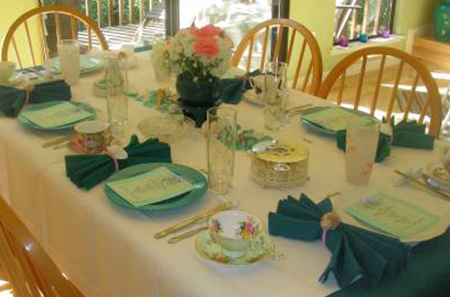 The Sea-Spa Tea Party~A Complete Success