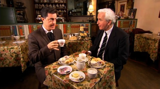 Royal Wedding Tea Time Fever – Stephen Colbert
