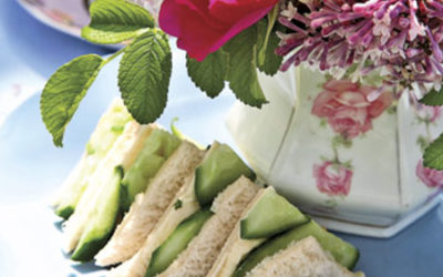 Cucumber Tea Sandwiches 101