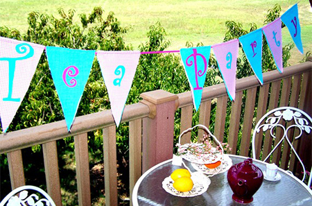Tea Party Whimsy Offers Creative Tea Party Twist