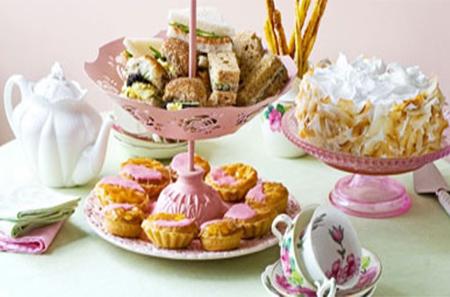 Gluten Free Tea Time Menu Options