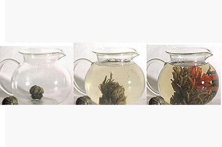The elegance and excitement of display teas