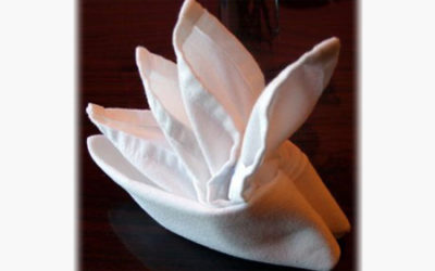 How To Fold Napkins For Tea