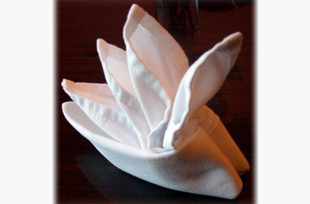 How To Fold Napkins For Tea