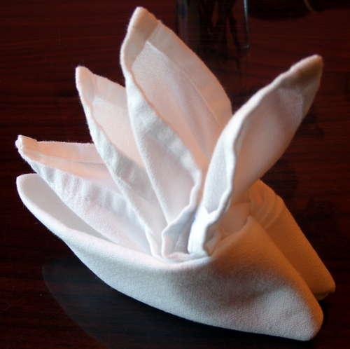 Folding Napkins For A Kids Tea Party