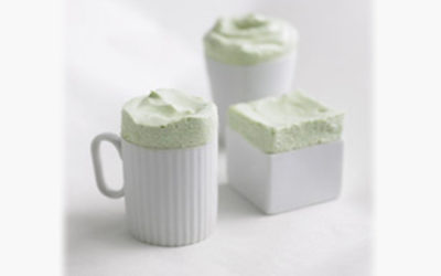 Green Tea Souffles by Martha
