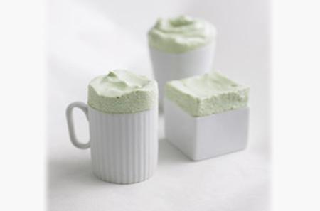 Green Tea Souffles by Martha