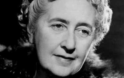 Tea with Agatha Christie