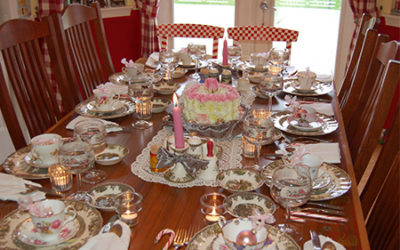 Planning A Seasonal Tea Party