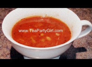Tea Party Soup