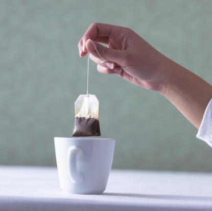 Do tea bags belong at the tea table?