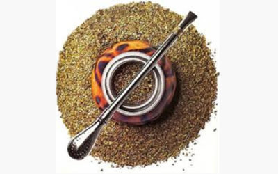 Drink to friends!  Have some Yerba Mate, the tea of  good health and friendship