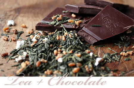 Tea and Chocolate by Eve Robins