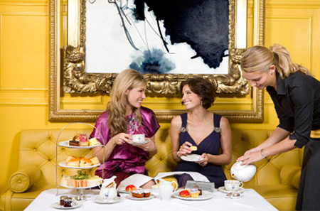 Travel To London For Afternoon Tea – Virtually