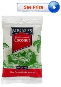 Desiccated Coconut Aussie Brand with See Price
