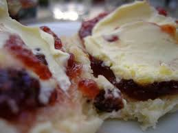 Jam and Cream on Scones