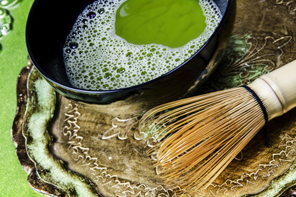 Matcha Tea with Stirrer