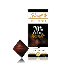 Lindt 70percent Dark Chocolate