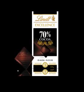 Lindt 70percent Dark Chocolate