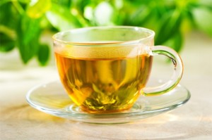 Drinking tea for health - try green