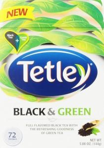 Tetley Green & Black Blend
