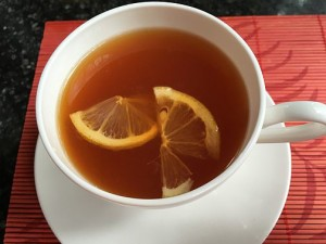A warm refresher with Rooibos