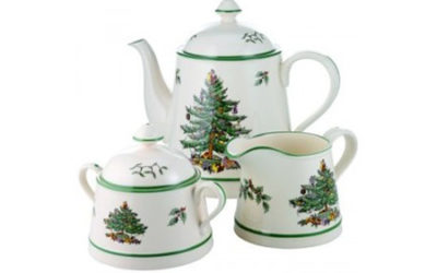 Put up your Tree for a Christmas Tea Party!