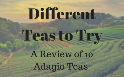 Different Teas to Try – A Review of 10 Adagio Teas